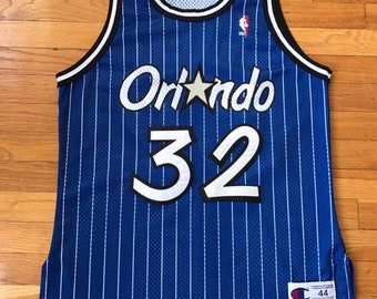 5254ae82 Vintage Authentic champion Orlando Magic Shaquille O'Neal jersey size 44