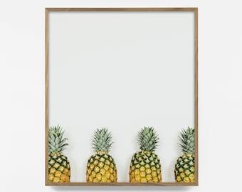 Pineapple Print, Pineapple Art, Tropical Print, tropical art, tropical poster, Fruit Print, Pineapple Wall Art, printable wall art pineapple