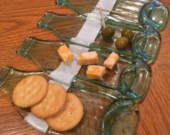 4 bottle platter