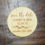 Sale Price! Save the date heart Magnets , Save The Date, Wood Save The Date Magnet, Personalized Save The Date Magnet, Wedding
