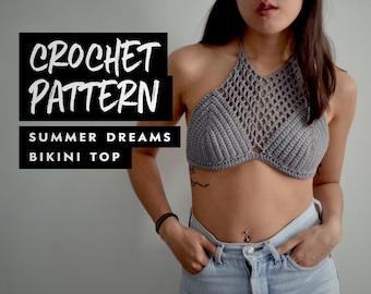 Crochet Pattern | Summer Dreams Bikini Top