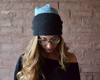 Slouchy Knit Hat | Winter Beanie