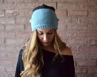 Knit Slouchy Beanie | READY TO SHIP | Winter accessories | Toque Hat