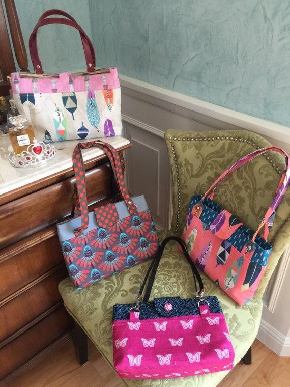 SewSallee Purse Pattern--The Elizabeth Bennet Bag
