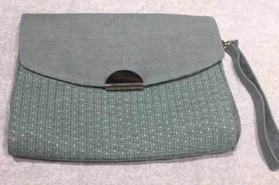 Tweed Clutch Bag