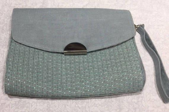 Tweed Clutch Bag