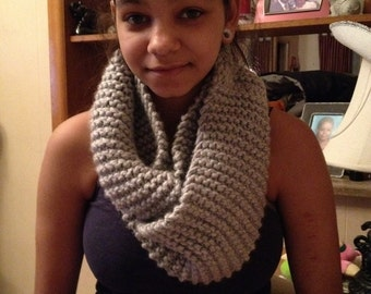 thick infinity scarf