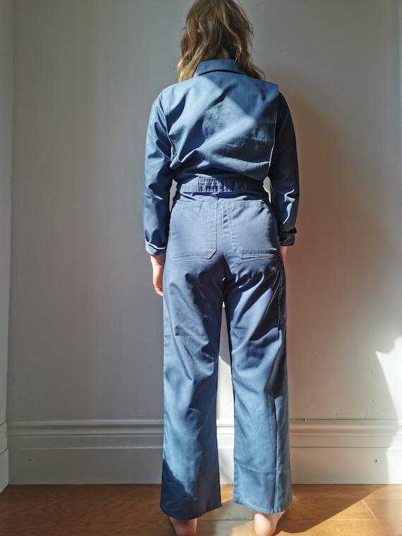 Vintage Blue Boilersuit // S-M // #17 - image 4