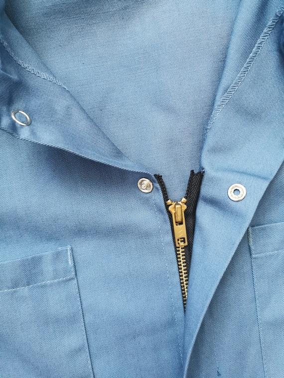Vintage Blue Boilersuit // S-M // #17 - image 8