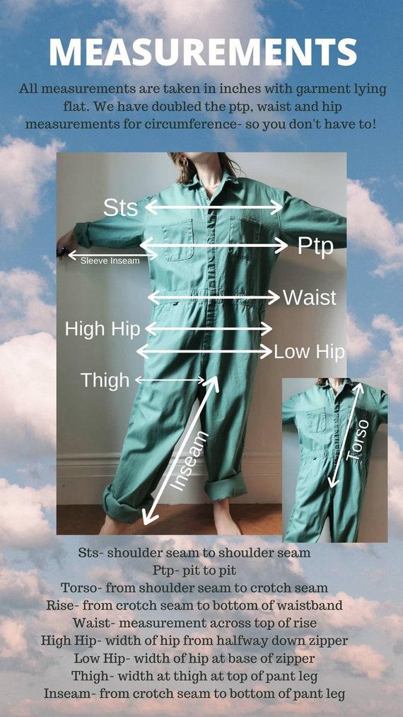 Vintage Blue Boilersuit // S-M // #17 - image 10