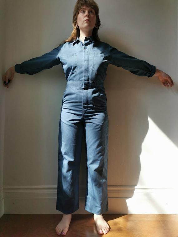 Vintage Blue Boilersuit // S-M // #17 - image 3