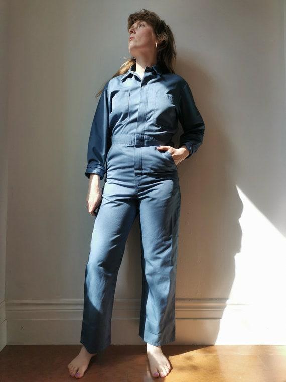 Vintage Blue Boilersuit // S-M // #17 - image 2
