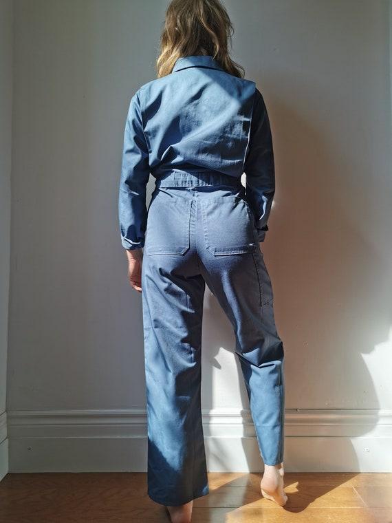 Vintage Blue Boilersuit // S-M // #17 - image 5
