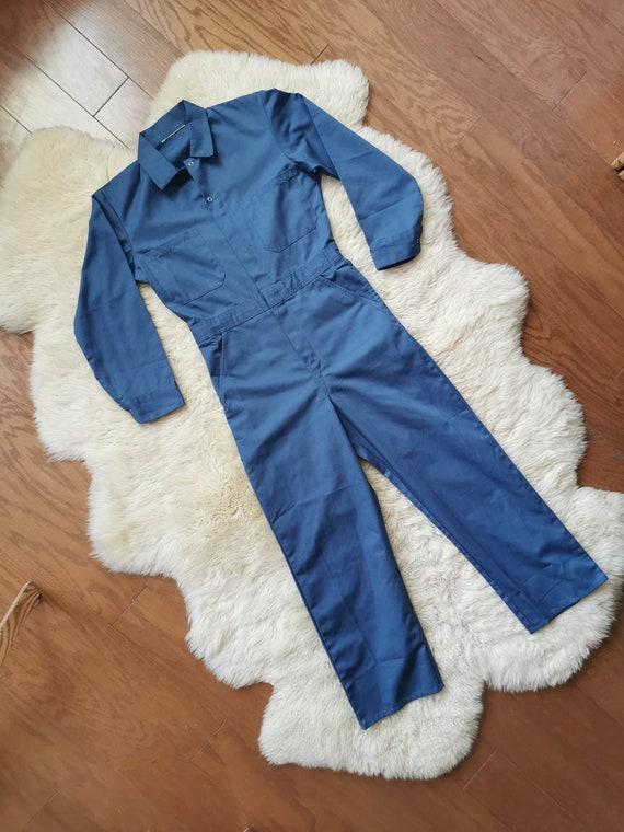 Vintage Blue Boilersuit // S-M // #17 - image 6