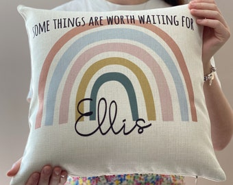 Birth Announcement PillowFREE SHIPPING