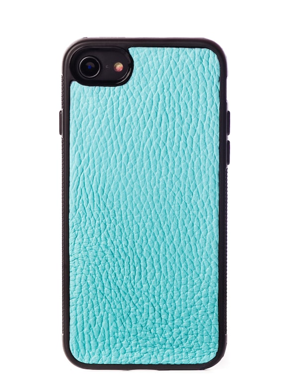 pretty nice a9ce5 00f7f Tiffany Case with natural Cow Leather for iPhone 7/8 & iPhone 7 Plus/8 Plus  - iPhone 7/8 Leather Case - iPhone 7 Plus/8 Plus Leather Case