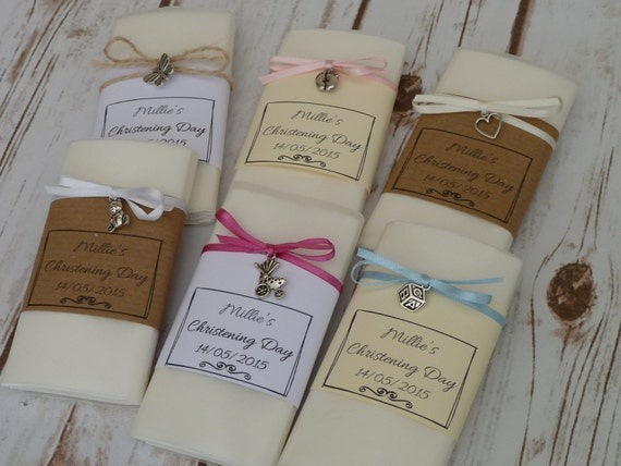 PRAM 25 LILAC CHRISTENING BABY SHOWER NAME PLACE CARDS WITH TEDDY