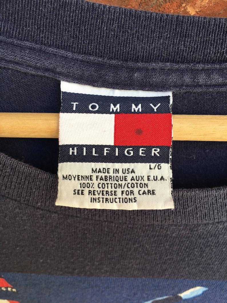 f7f71e09 Vintage Tommy Hilfiger International Games t shirt 1937 down | Etsy
