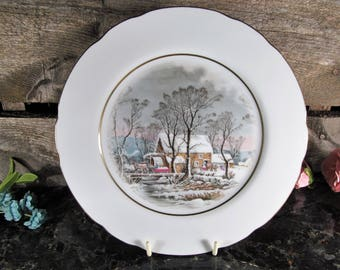Collectible Plate by Avon, Representatives Award, Vintage Home, Office & Farmhouse Accent and Decor, Avon Collections, Wall or Shelf Art