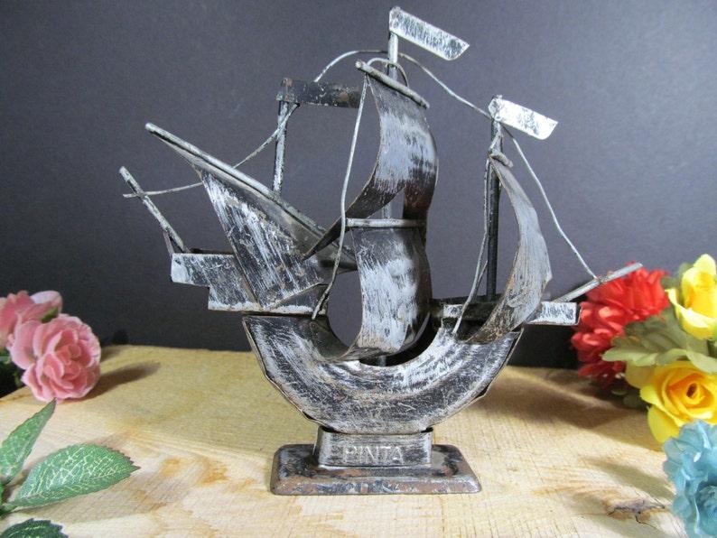 Souvenir Metal Ship The