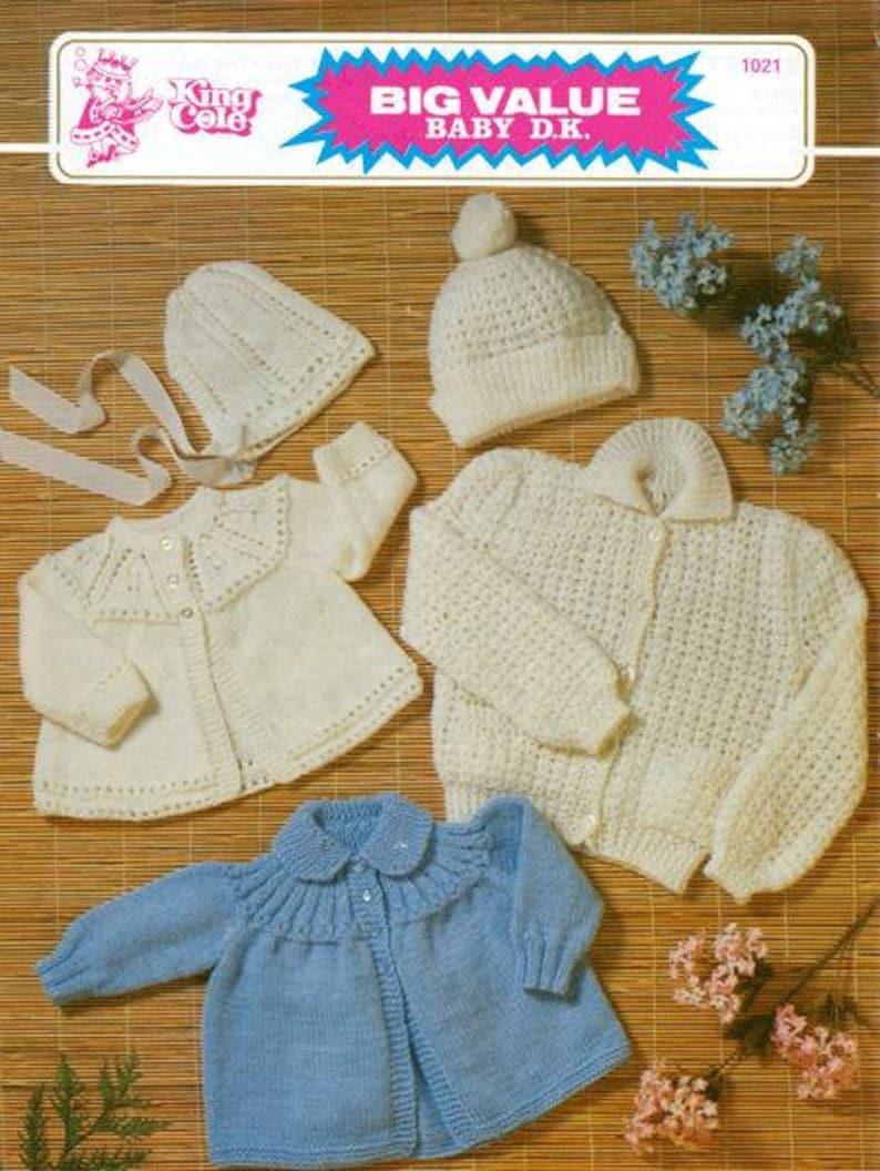 660d638d3244 Download pdf vintage baby coats bonnet in 3 styles knit
