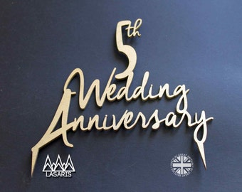 Cake Topper Wedding Anniversary