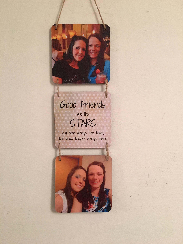 Gute Freunde sind wie Sterne Fotogeschenk Freundschaft | Etsy