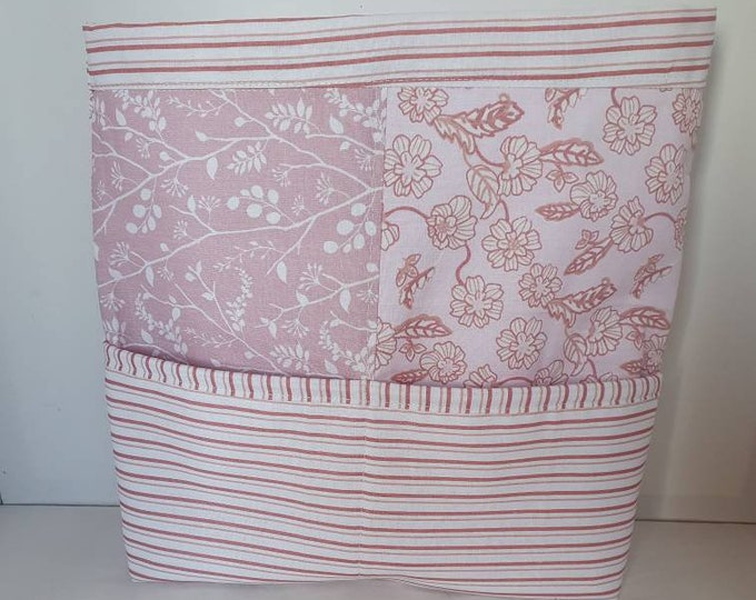Knitting caddy, craft basket, crafts holder, craft storage, caddy for crafts,  gift for knitter,  handmade craft storage,  knitting storage
