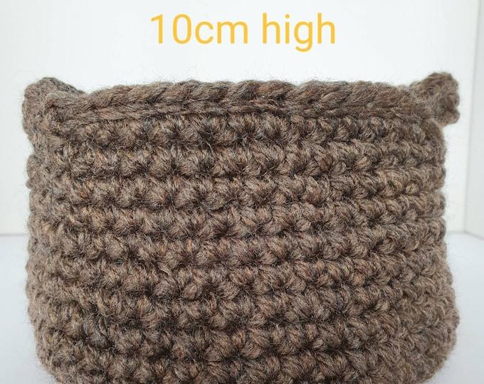 Crochet basket, handmade basket, decorative basket, storage basket, display basket, yarn basket, home decor, useful gift, gift for home