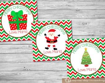Christmas Gift Tags Printable / Holiday Gift Tags / Christmas Tags / Printable File