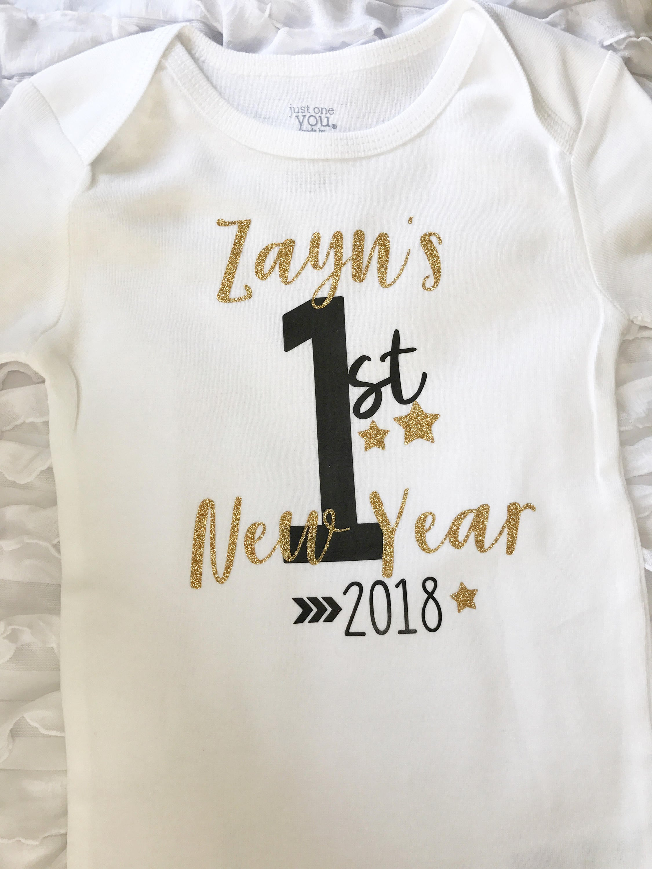 293319ba9b2f4 New Year bodysuit. first new years. baby first new years. new | Etsy