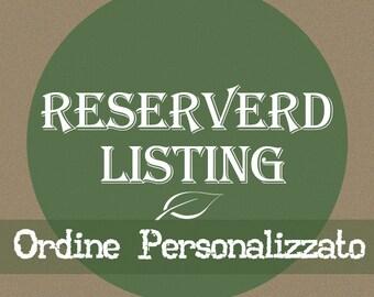 Ordine personalizzato per Francesca - scatoline degustazione confetti + tag