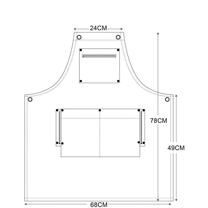 ARC1 Denim Apron/_Safety zone/_Black
