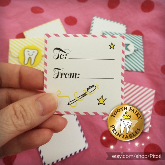 photo regarding Free Printable Tooth Fairy Letter and Envelope referred to as Enamel fairy Letters Envelopes, Printable enamel fairy mini