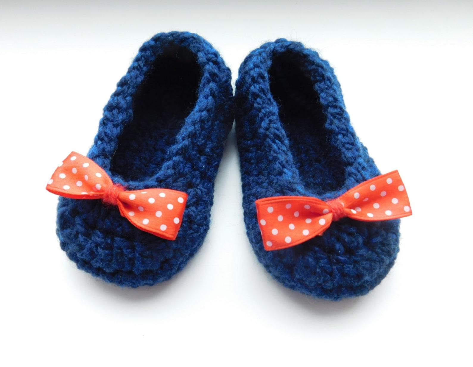 crochet pattern baby shoes ballet slippers - pdf crochet pattern n.101