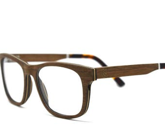 c9fded4821f6b Wooden Glasses Handmade Glasses Prescription Glasses Wood Eyeglasses Brown  Oak Wood Wooden Sunglasses Wood Frames Eco Eyewear