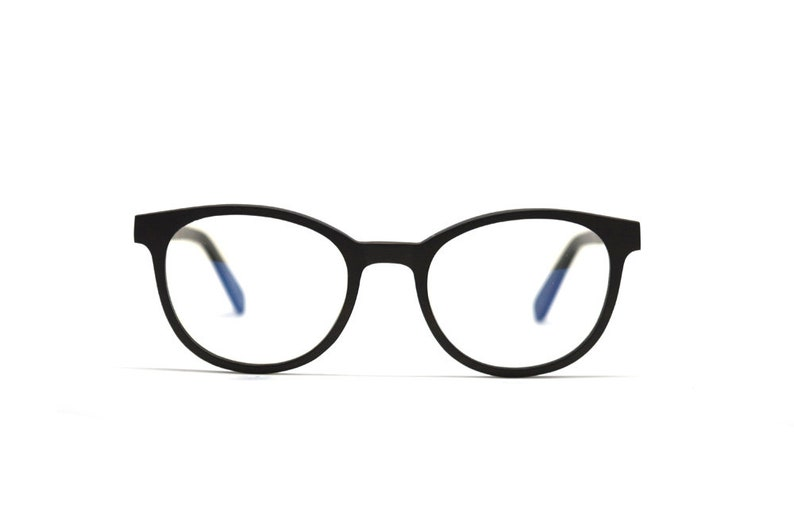 73826dae1b Black-Brown Real Wood Eyeglass Frames for Men and Women