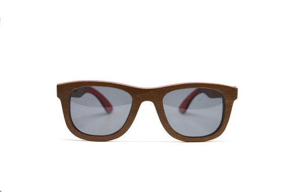 4f87ccd95f Brown Wood Sunglasses Skate Wood Sunglasses Wayfarer Accessories Eco  Friendly Charity Wood Mens Sunglasses Womens Sunglasses Do Good