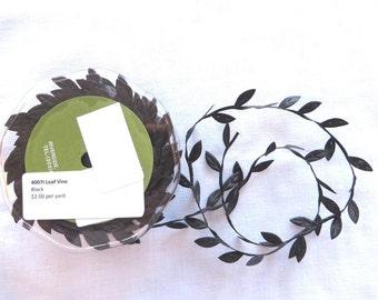 Black Leaf Vine Trim 4007I