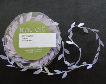 Lavender Leaf Vine Trim 4007H