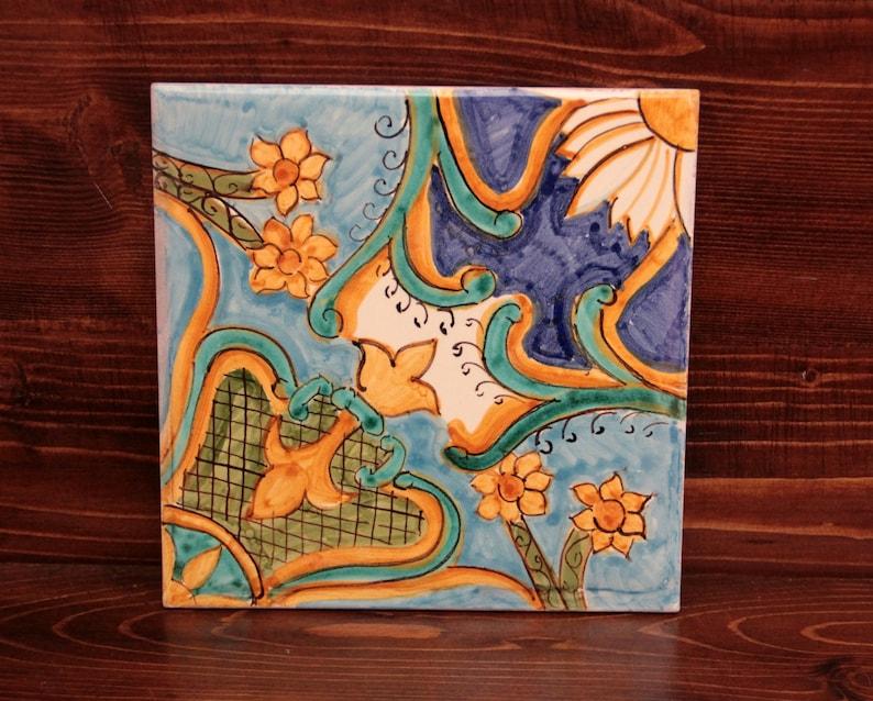 Piastrella ceramica personalizzata piastrelle decorative etsy