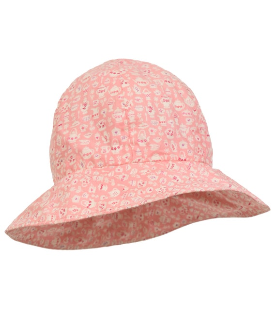 1d944f9c3842 Liberty print girls Sun hat