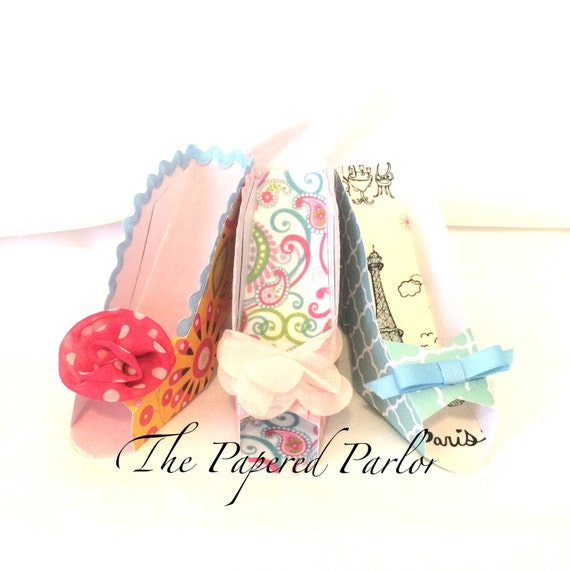 Birthday Party Ideas Augusta Ga: High Heel Party Favors /Paper Shoes/Stiletto Party/Cottage