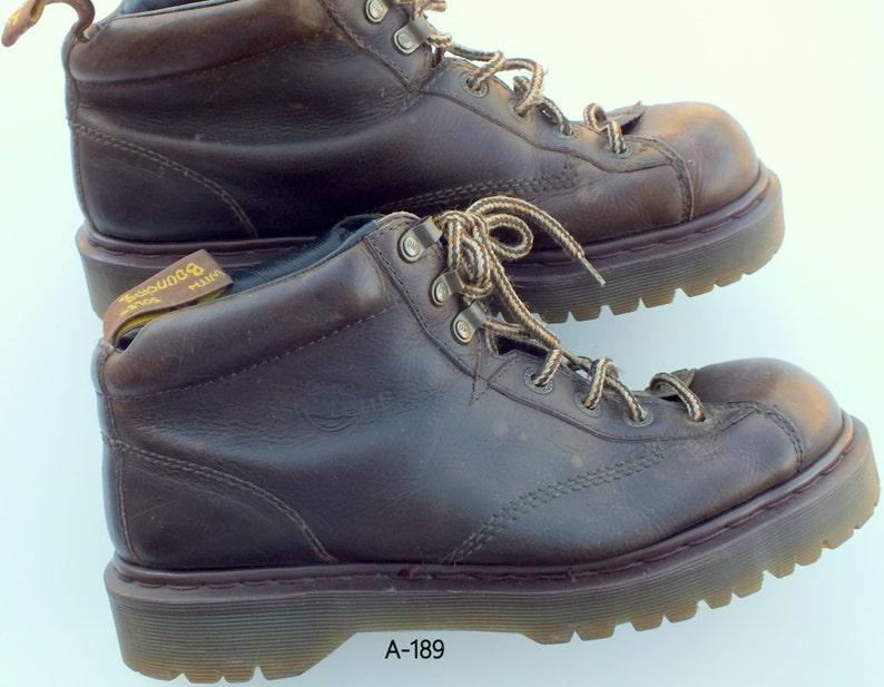 22e5ba01a7 Dr. Martens airwair bouncing soles ankle boots men's size | Etsy