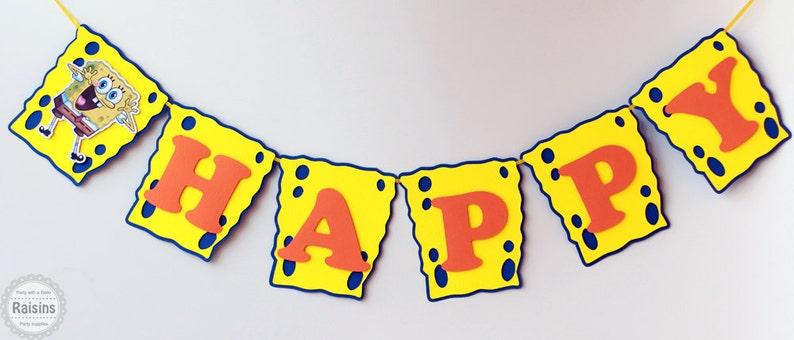 35ad09cf0ee Spongebob birthday party decorations Spongebob Squarepants