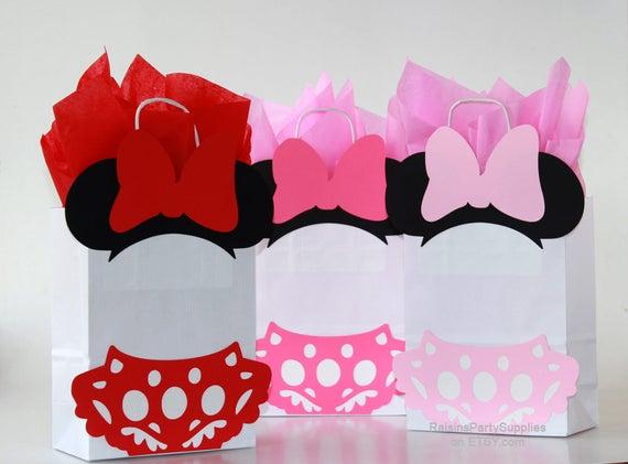 Minnie Favor Bags