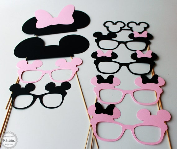Minnie Mouse Photo Booth Props Mickey Mouse Photo Booth Props