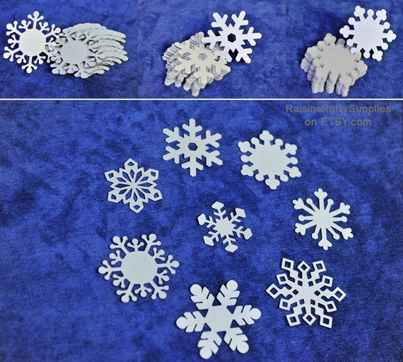 Snowflake Die Cuts Big And Small For Diy Project And Kids Crafts