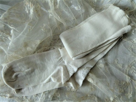 Antique silk stockings perfectly ruined wedding st