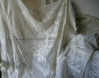 Antique Blanket Ceiling blankets bedspread French shabby chic